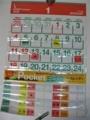 シーガル ビニールポケットカレンダー2009