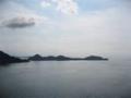 豊島大橋(アビ大橋)から南側を望む