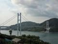 豊島側から豊島大橋(アビ大橋)を撮影