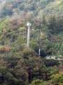 呉市蒲刈町にある携帯電話用のアンテナ施設