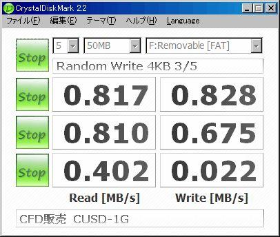 WX320T + CFD販売 microSDカード CUSD-1G