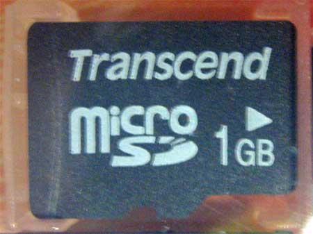 microSDカード TS1GUSD-2