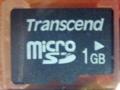[Transcend] microSDカード TS1GUSD-2