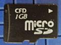 [CFD販売] microSDカード CUSD-1G
