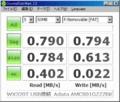 [CrystalDiskMark]WX320T + A-DATA AMCS01GZZZBK