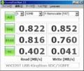 [CrystalDiskMark]WX320T + Kingston SDC/1GBFE