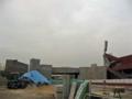 [新広島市民球場]新広島市民球場 歩行者通路建設現場風景