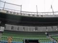 [広島市民球場]内野指定席から2階を望む