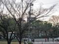 [広島市民球場]三塁側内野席外側通路から原爆ドーム方面