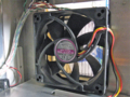 [Scythe]風拾 KAZE-JYU「MODEL:SY1025SL12M DC12V を前面吸気側に装着