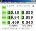 [CrystalDiskMark]Kingston microSDカード SDC/1GBFE