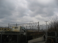 [広島貨物ターミナル]地下通路北側出入り口からターミナル方面を望む