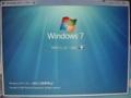 [Windows7]今すぐインストール(I) 画面