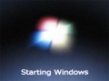 [Windows7]Starting Windows