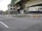 日本通運広島支店前は、かさ上げ工事中