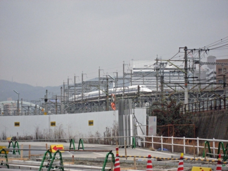 JR山陽新幹線には(たぶん)700系も通ります