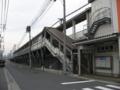 JR天神川駅 南側 JR広島駅方面を望む