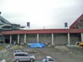 [新広島市民球場][工事見学スペース]2階から