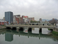 [猿猴橋][荒神橋](手前)猿猴橋(奥)荒神橋 駅前大橋から撮影