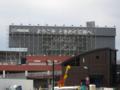 [新広島市民球場]スコアボード裏「MAZDA Zoom-Zoom スタジアム広島」広告
