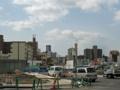 [新広島市民球場]新球場東側の道路工事
