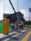 北側の球場東駐車場(一般車)ゲート設置工事