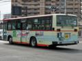 [芸陽バス]【広島200か・389】「球場前(西)」交差点付近にて撮影(左後方)