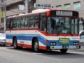 [芸陽バス]【広島22く41-88】「球場前(東)」交差点付近にて撮影(右前方)