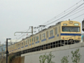 [103系]新広島市民球場北側を走行する103系電車