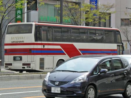 【広島200か10-05】「段原中央」交差点にて撮影(右後方)