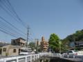 """[二又川]""""第二櫻橋より上流の通路""""から上流方向を望む"""