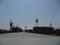 [新広島市民球場]プロムナードから新球場方面を望む