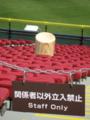 [新広島市民球場]スポーツバーの上