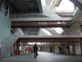 [新広島市民球場]通路が低いので2m以上の身長の人は要注意!