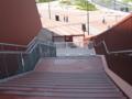 [新広島市民球場]正面入口への階段は封鎖中