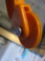 [大創産業]『アルミ製網戸用押さえゴム用ローラー〝C029 No.4〟』リベット