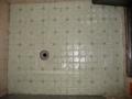 [風呂場]モルタル施工後、タイル貼り完了後の状況