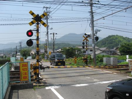 JR可愛川踏切