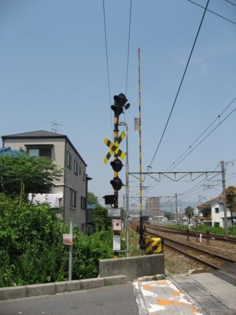 JR廿日市駅構内 砂走第3踏切
