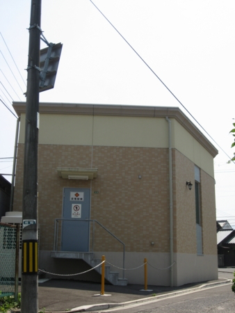 広島電鉄廿日市変電所