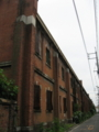 [旧広島陸軍被服支廠]中間の棟から南を望む