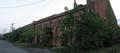 [旧広島陸軍被服支廠]中間の棟から南側を望む