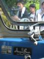 """[呉市営バス]【広島2い51-80】IS682 車内""""KAWASAKI BODY""""""""Isuzu Bus""""銘板"""
