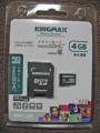 [KINGMAX]KM-MCSDHC6X4G パッケージ表