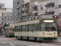 [広島電鉄3700形電車]3703編成(手前)