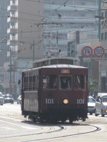 """101号車""""大正形電車"""""""