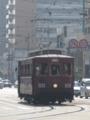 """[広島電鉄100形電車]101号車""""大正形電車"""""""