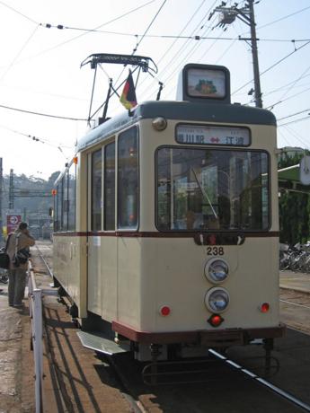 """238号車""""ハノーバー電車"""""""