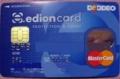 [edion]「オリコ・edion card」