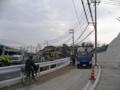 [広島高速3号線]側道の舗装工事中?